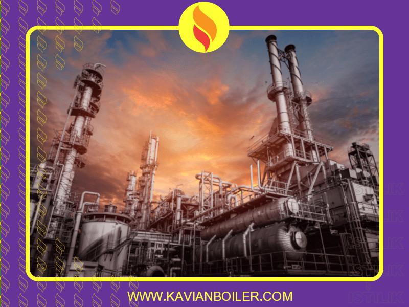 دیگ بخار صنایع نفتی
