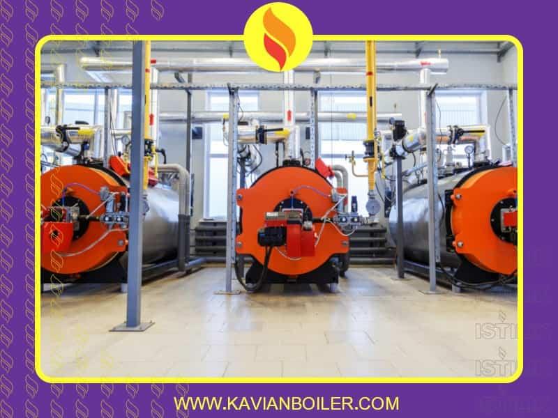بویلر بخار - دیگ بخار صنعتی